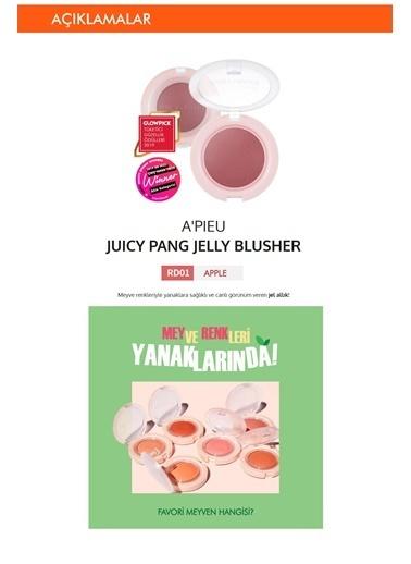 Missha ApıeuJuicy Pang Jelly Blusher RD01 Apple Doğal Görünümlü Jel Allık Renksiz